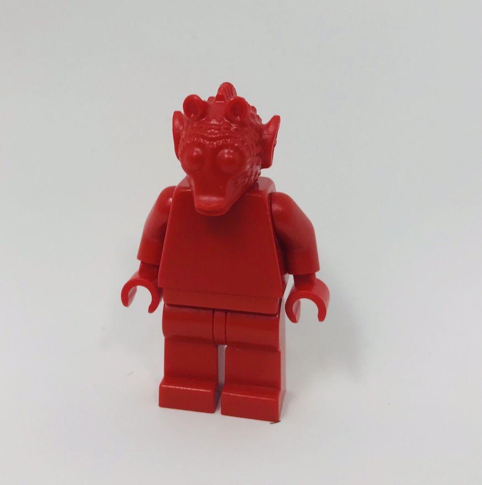 Lego star wars prototype greedo bounty hunter headpiece