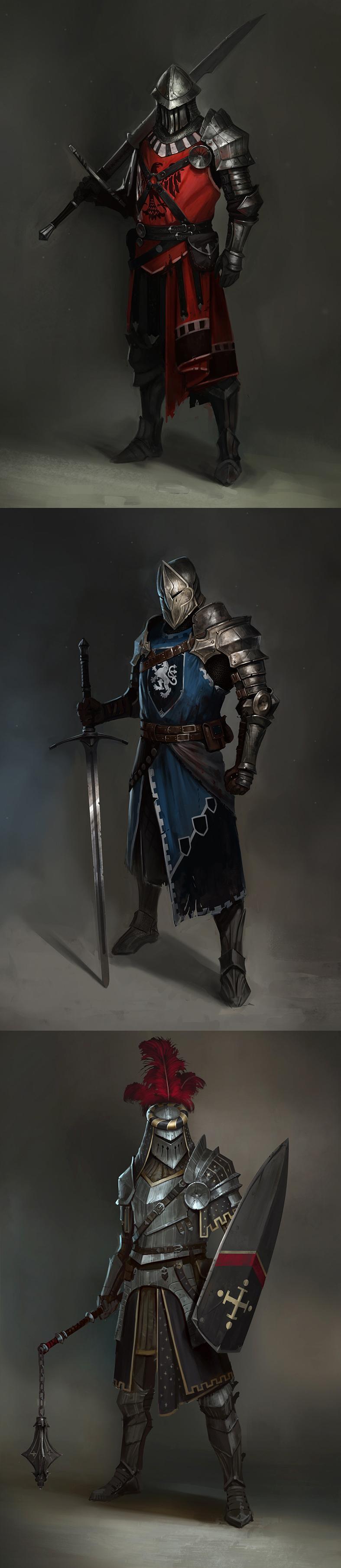 Knight by Vladimir Buchyk