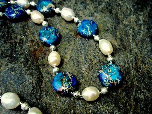 sonicka.j / Aqua terra jaspis a perly