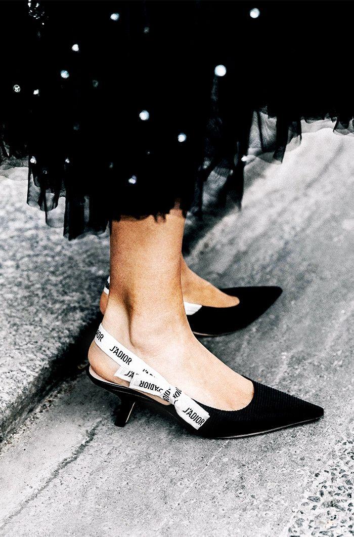 loves kitten heels despite her height