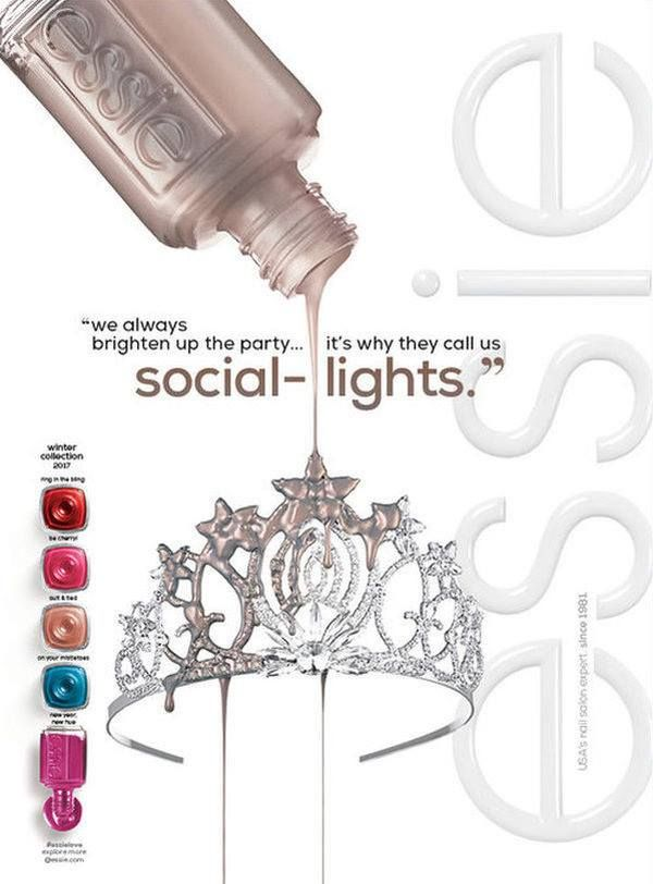 Essie Social Lights Fall Winter 2017 Collection