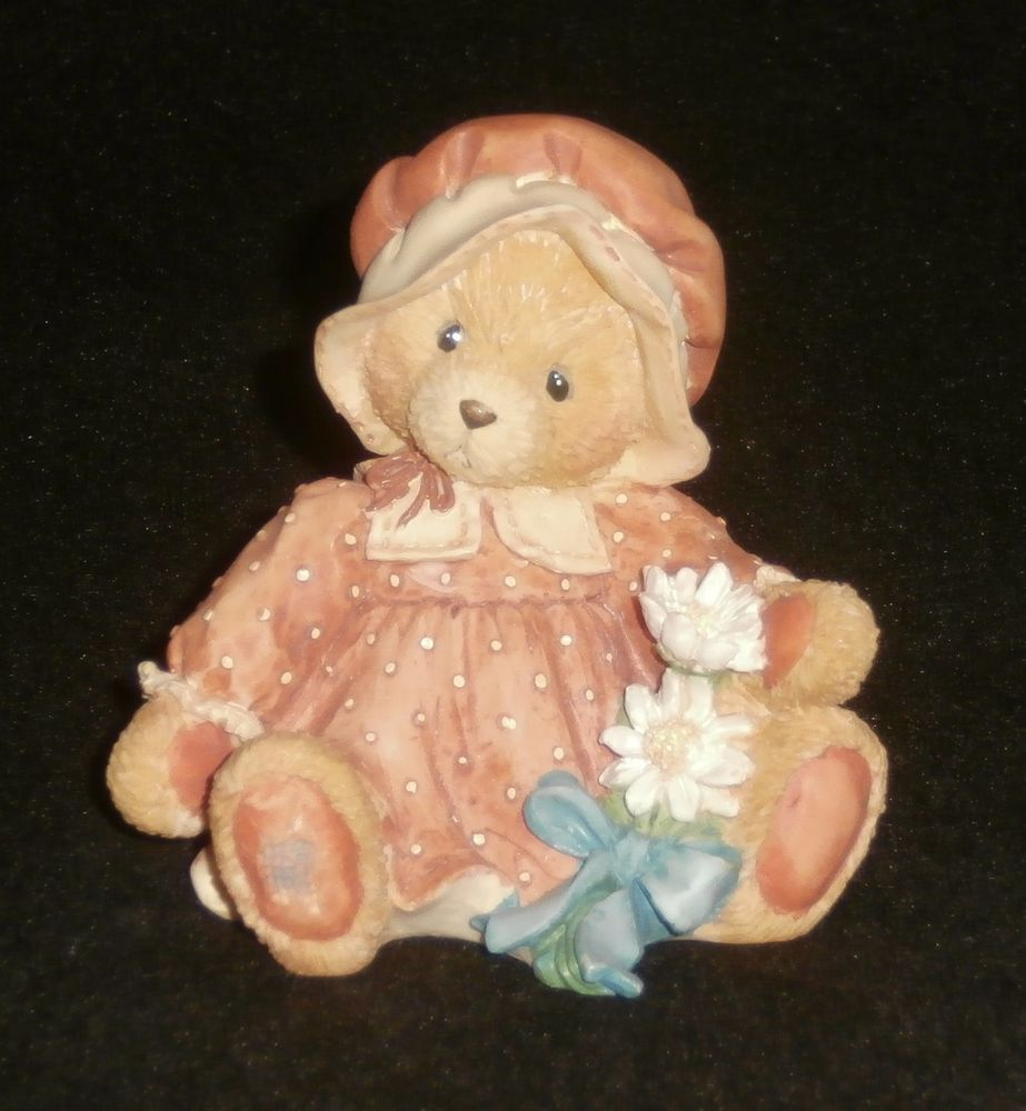 Enesco Cherished Teddies Prudence Thanksgiving Figurine #912808