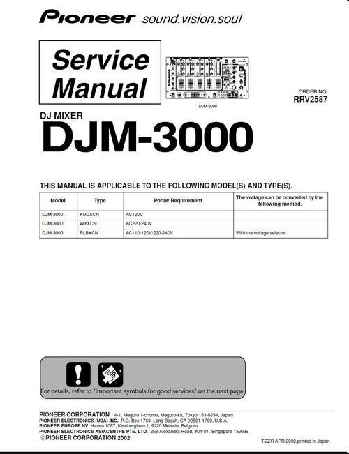 Djm 800 Service Manual
