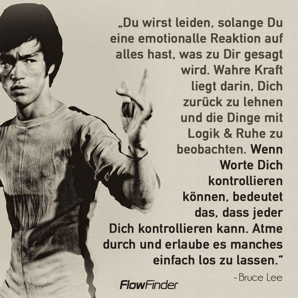 Pin Von Ro Auf Bruce Lee Schlaue Zitate Lebensweisheiten