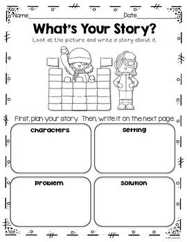Writing Activities and More: December, January, & February~K to ...