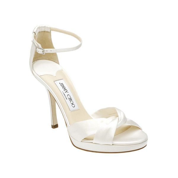 Jimmy Choo Ivory Wedding Shoes
