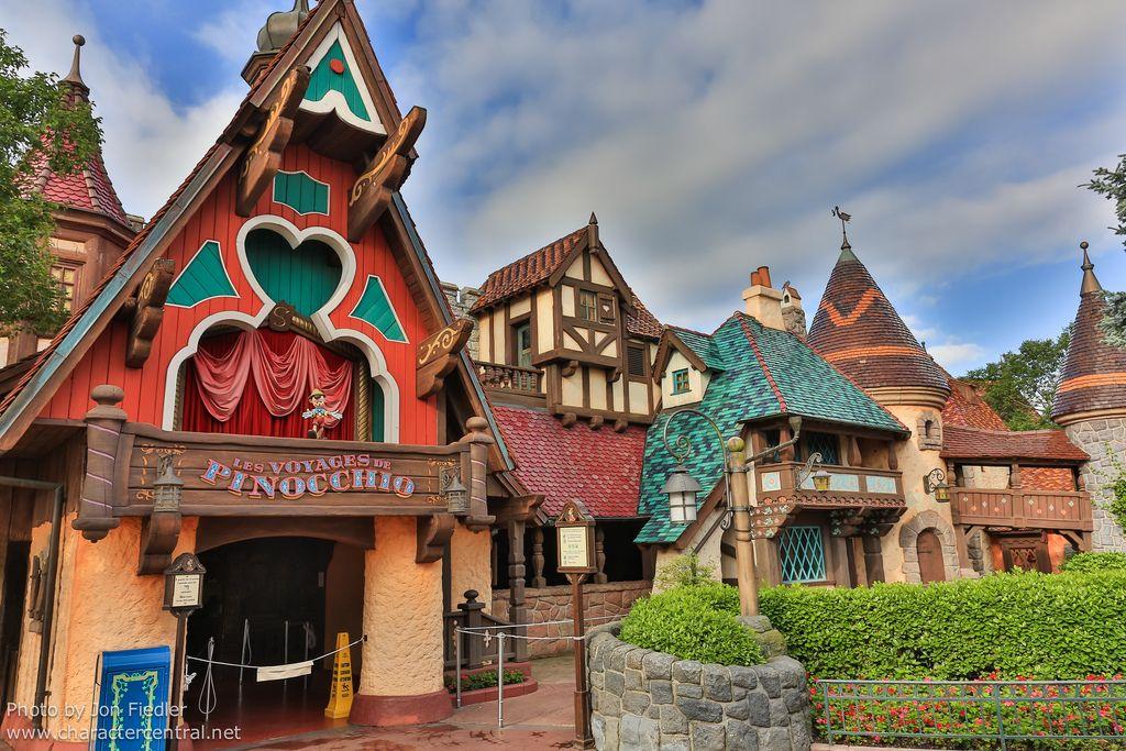 disney world pinocchio ride   Les Voyages de Pinocchio ...