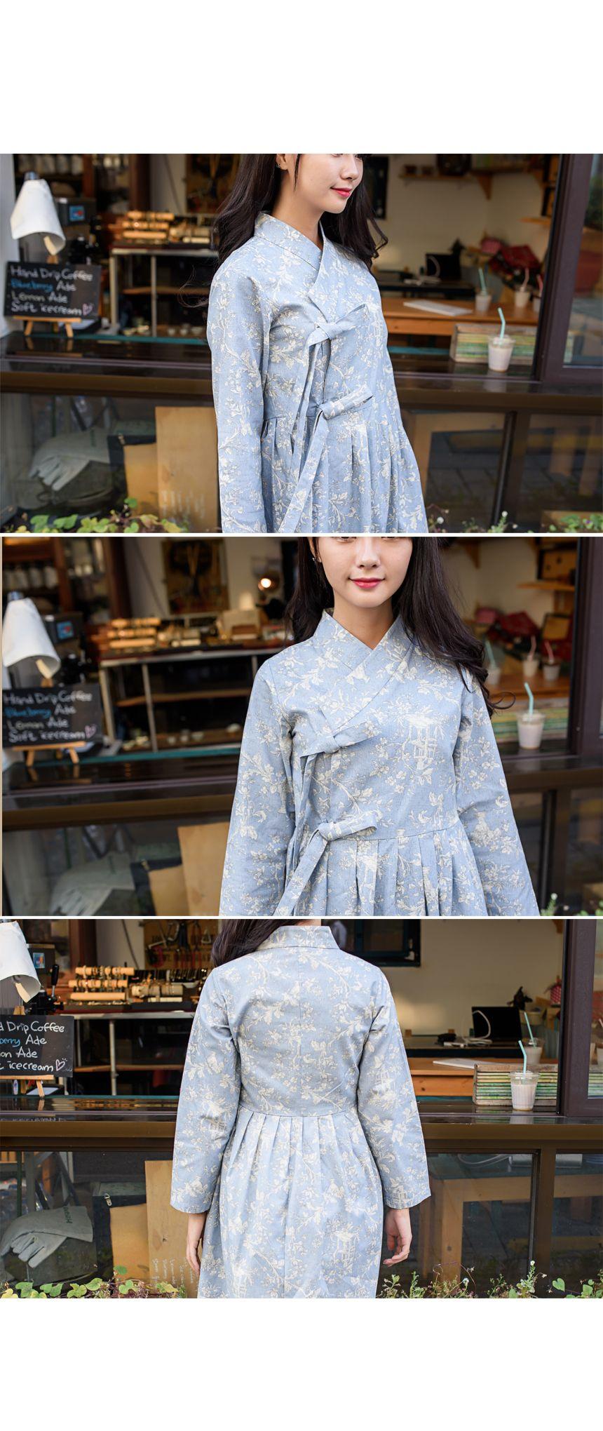 생활한복 개량한복 한룩 korean wave traditional clothing in