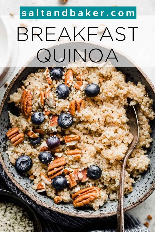Breakfast Quinoa Salt Baker In 2020 Easy Meals For Kids Vegan Breakfast Options Breakfast