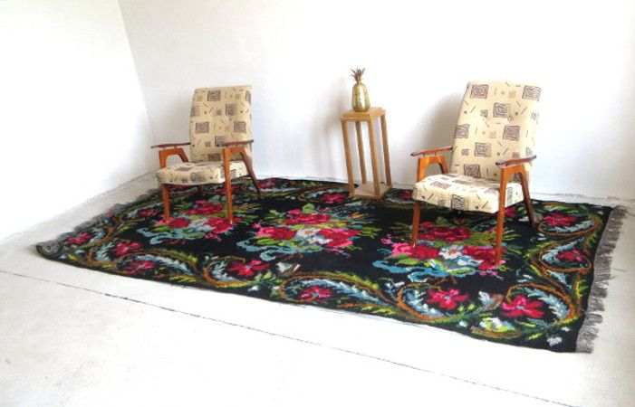1,61x3,47m 5,28x11,38ft,large area rug,big size rug,rose kilim rug