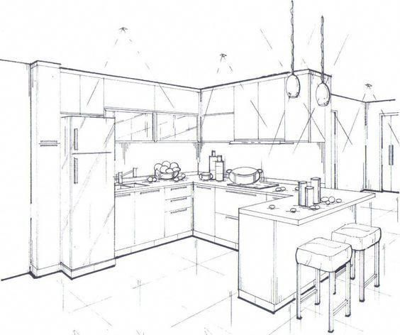 Cheap interior designers near me interiorkitchendesigns interiorhousecolors also how to draw point perspective in this time lapse version of rh br pinterest