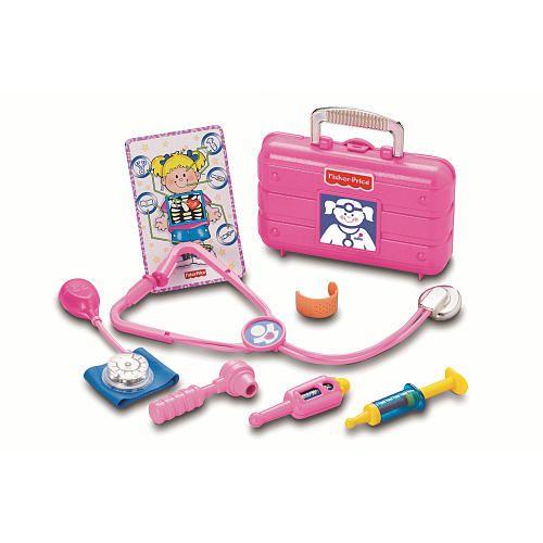 Fisher Price Medical Kit Pink Fisher Price 1001124 Play