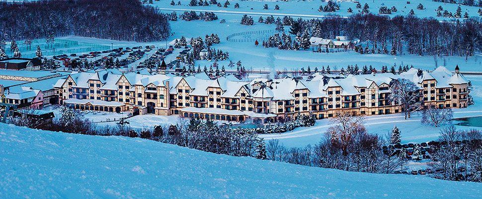 Boyne Falls Hotels And Condo Als Mountain Resort Michigan