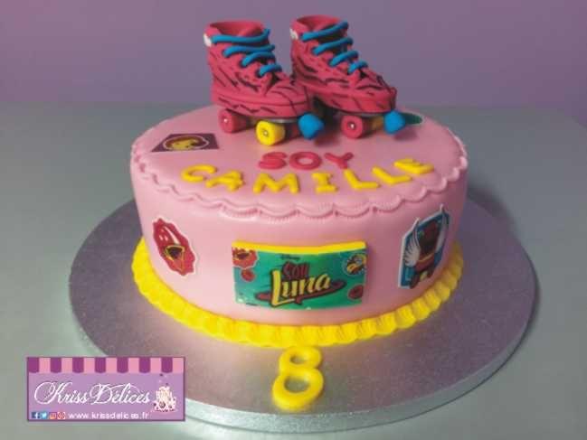 gâteau soy luna gâteau rollers | kriss délices | pinterest