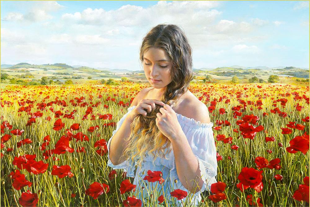 Today Akiane kramarik paintings, Akiane kramarik, Painting