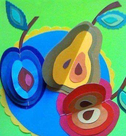 Apple craft idea for kids | funnycrafts