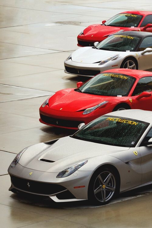 High Quality #Ferrari   What A Line Up! #Italian #SuperCars #Speed #Power