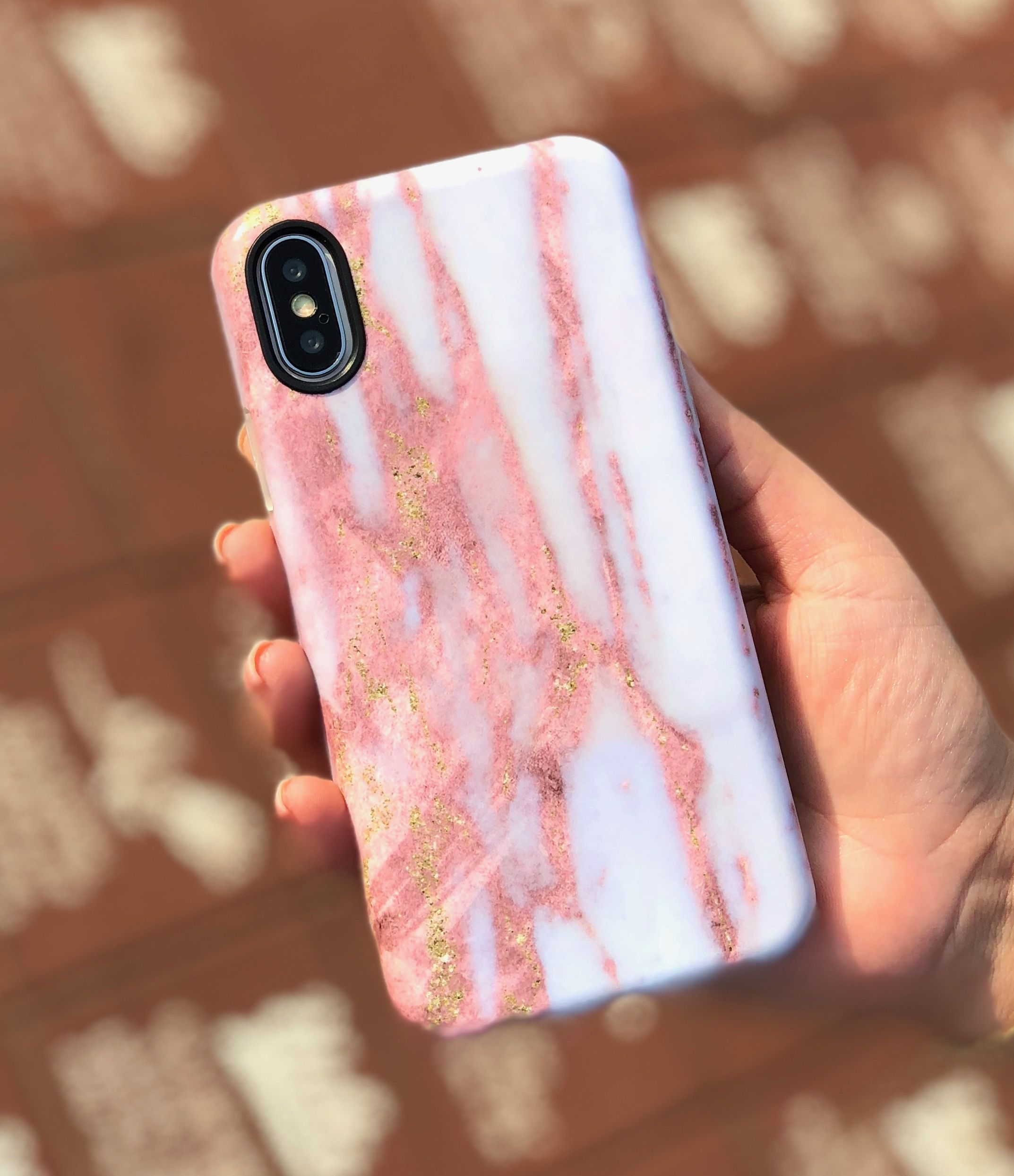 Dusted Rose Some Rose Gold And Some Gold Make Our Dusted Rose Case Available For Iphone X Iphone 8 Plus 7 P Phone Cases Phone Case Accessories Iphone Cases