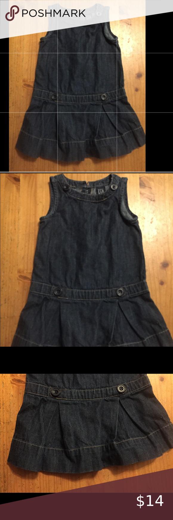 Baby Girl Toddler Gap Dress Denim 2t Blue Summer Gap Dress Denim Dress Toddler Girl [ 1740 x 580 Pixel ]