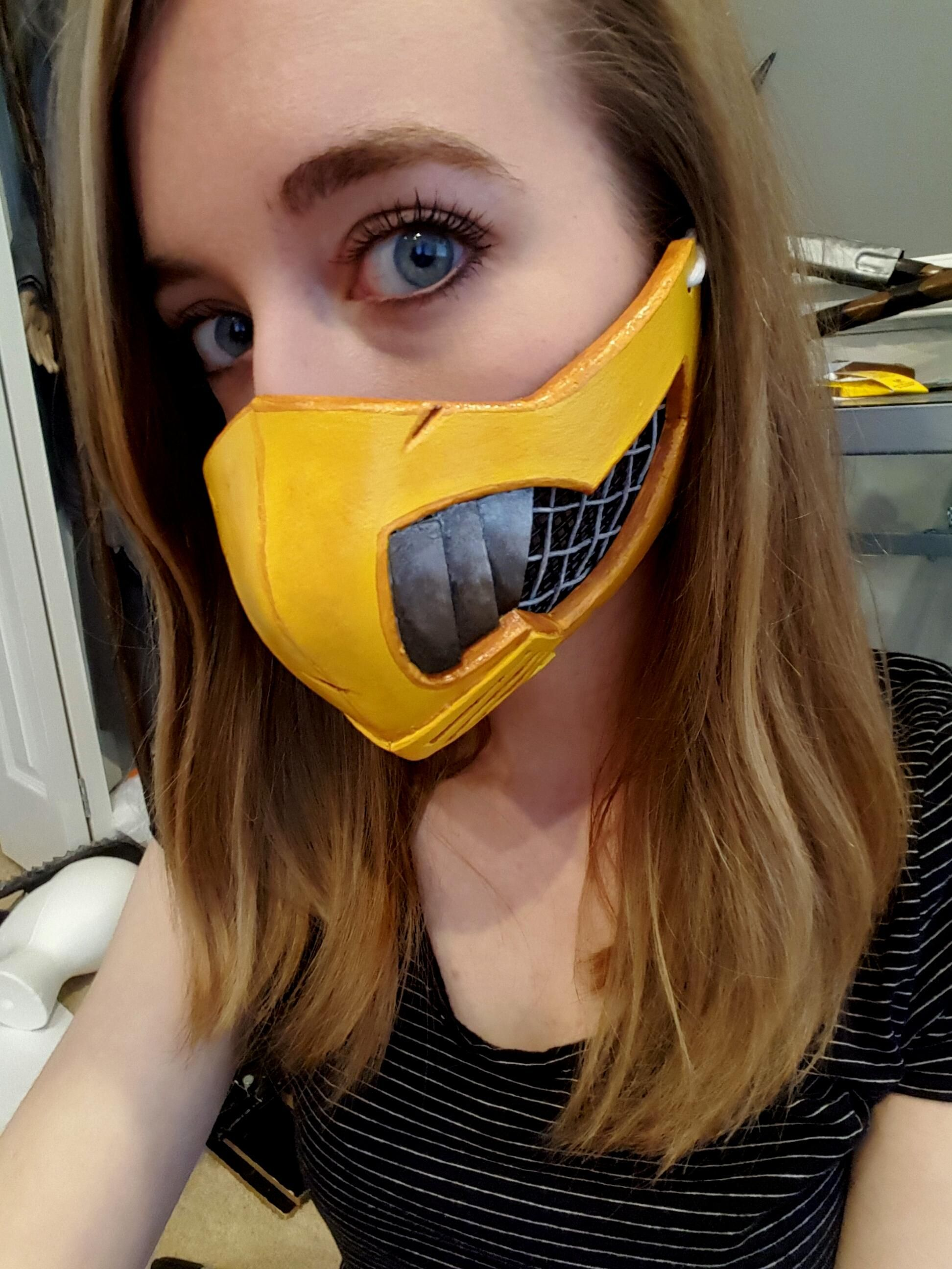 Self Started Working On My Female Scorpion Cosplay For Mortal