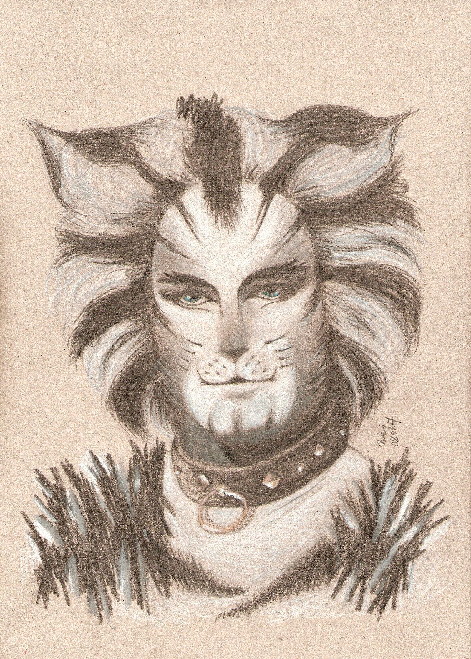 Munkustrap Jellicle cats, Musical art, Cats musical
