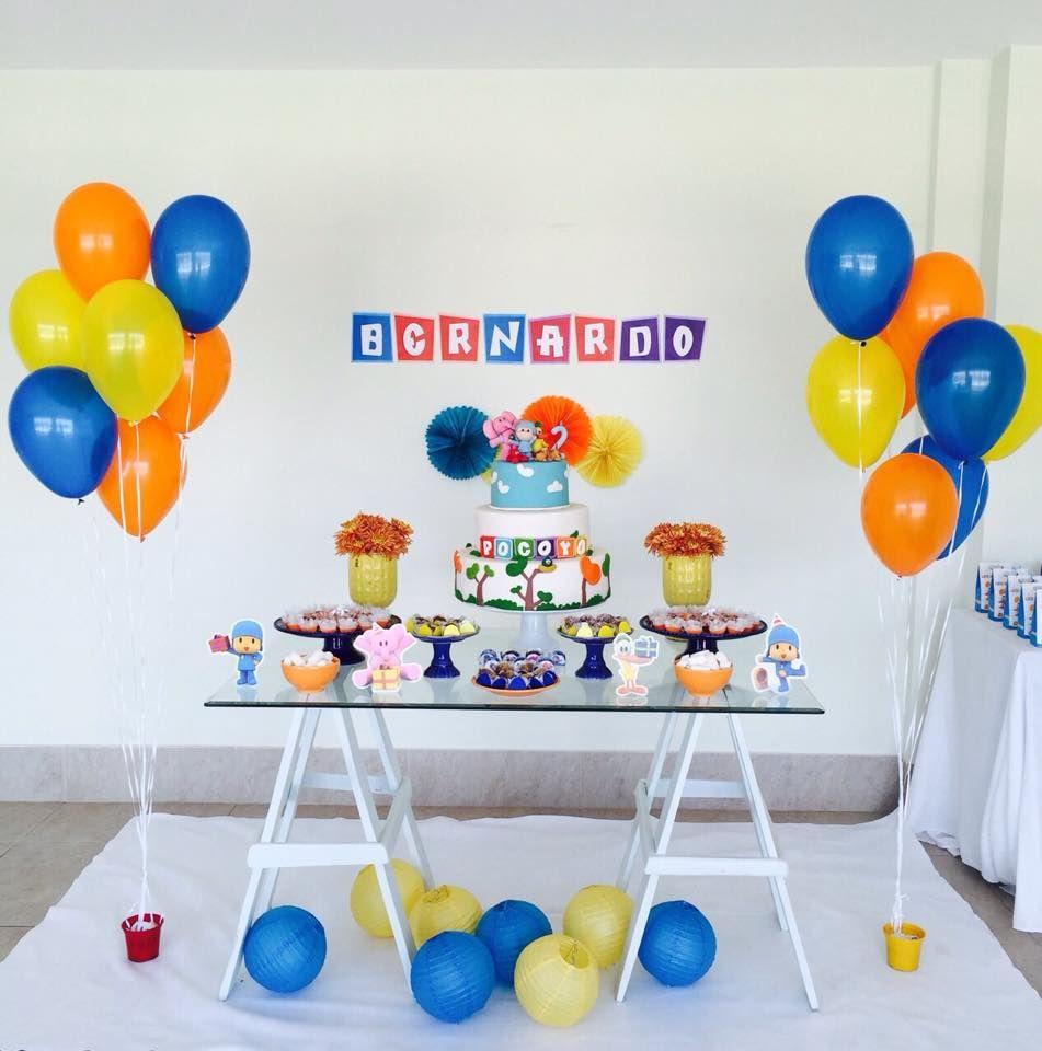 Preferência Festa do Pocoyo Simples | Decoraçao festa | Pinterest | Pocoyo  ZC12