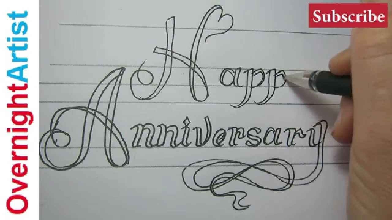 Anniversary How To Make Anniversary Gift Card For Parents Easy