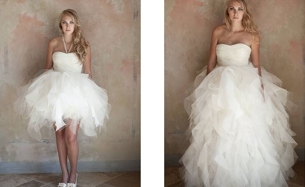 convertible wedding dress This is what I\'m talkin about | Just one ...