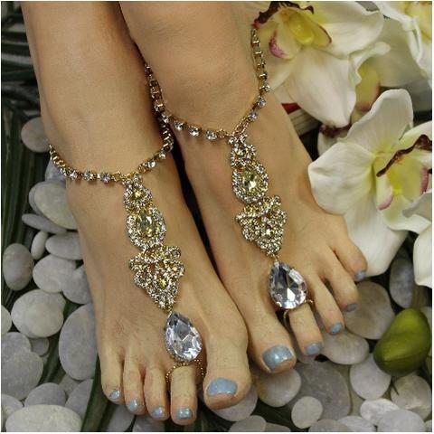 7f583fab888ac9 ERINN barefoot sandals - gold in 2018