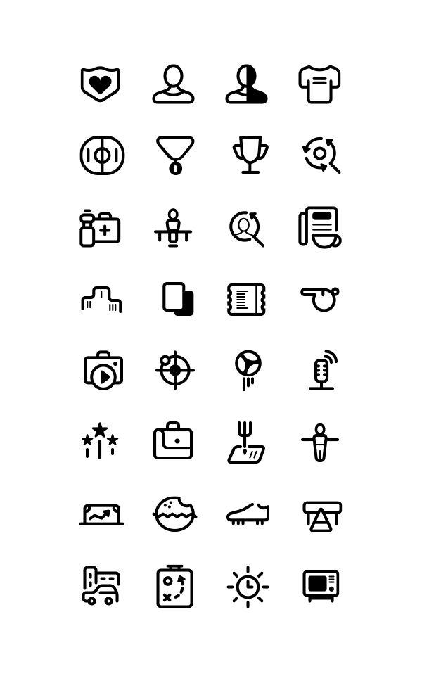 Free Icons Collection On Behance Pictogram Pinterest Icons