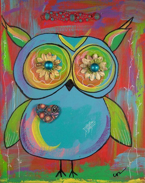 'Hoot Owl' by Crystal Bannin of Queenoftorts
