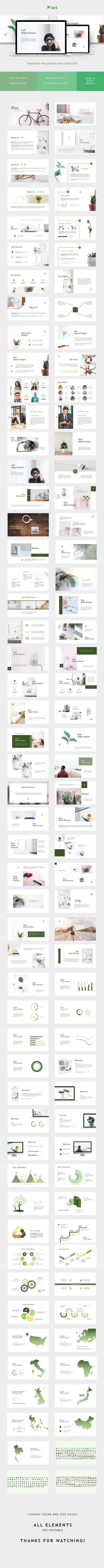 creative minimal powerpoint flyer pinterest presentation