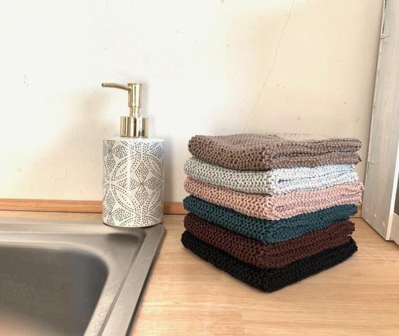 Photo of Gestricktes Spültuch Abwaschlappen Nachhaltigkeit zero waste