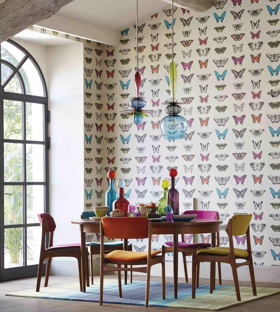 Papilio in dining rooms pinterest wallpaper harlequin
