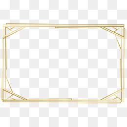 Vector Gold Frame Png Free Download Gold Frame Glitter Frame Balloon Background