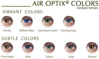 Air Optix Color Breathable Contact Lens (2pcs / box) Air