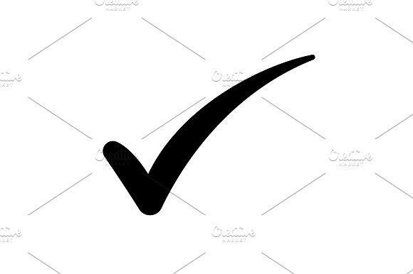 Check Mark Symbol Vector Black Pinterest Symbols And Logos