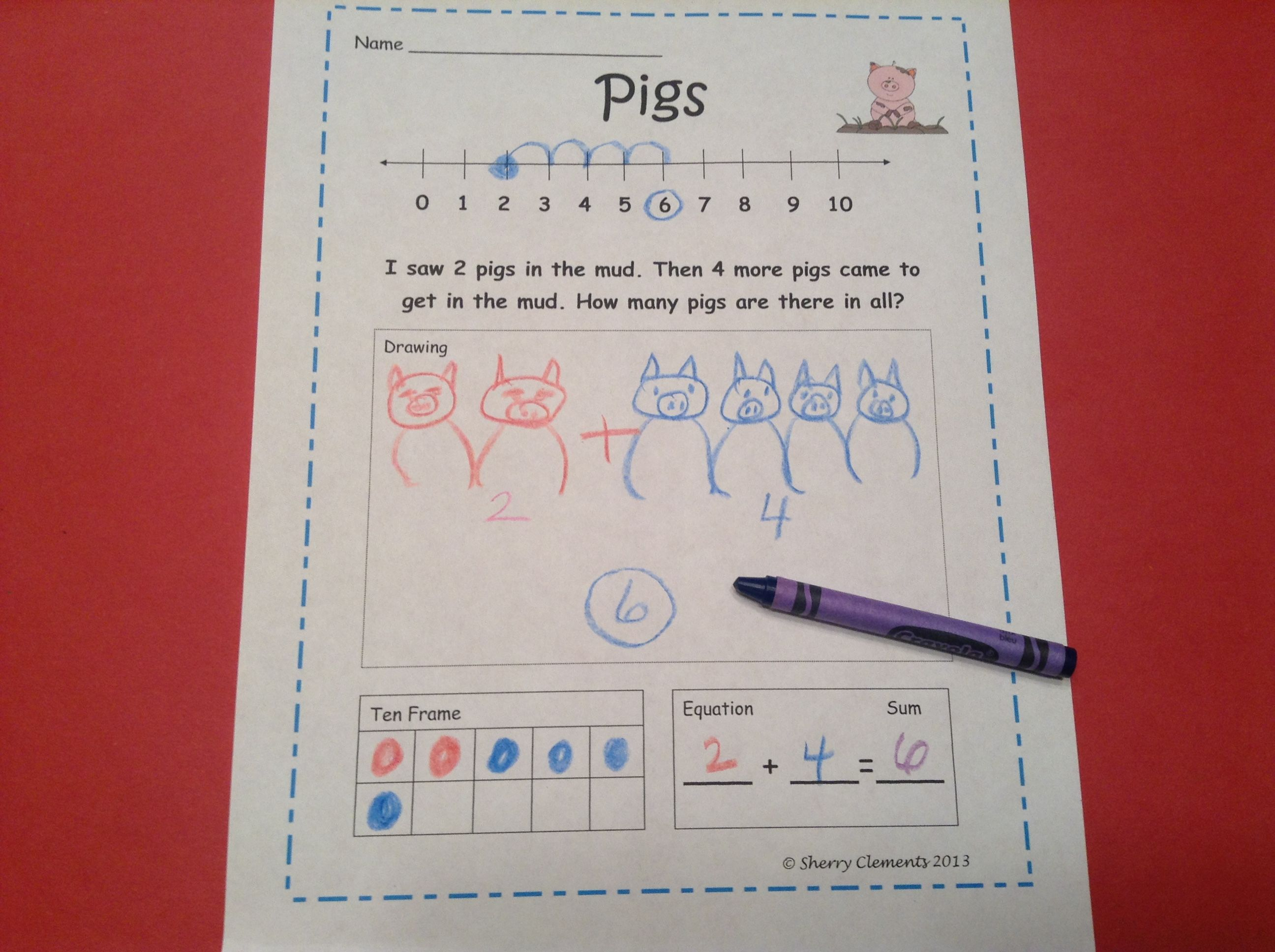 Farm Word Problems Sherry Clements