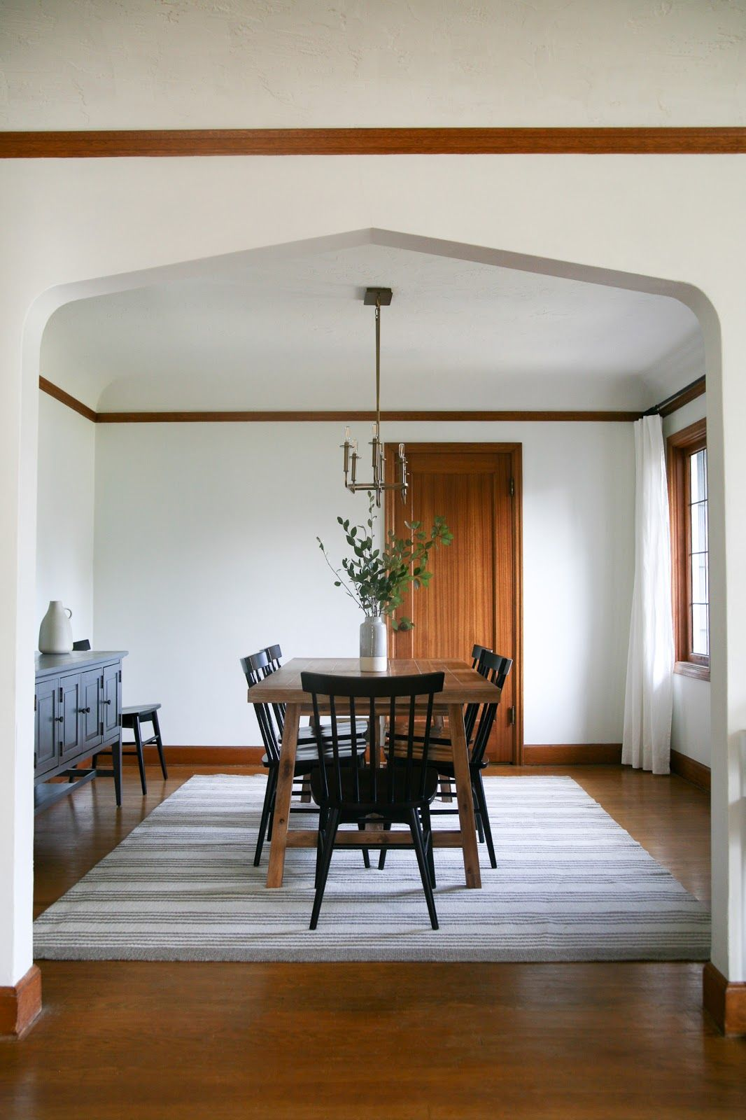 Modern traditional dining room decor - reveal!!