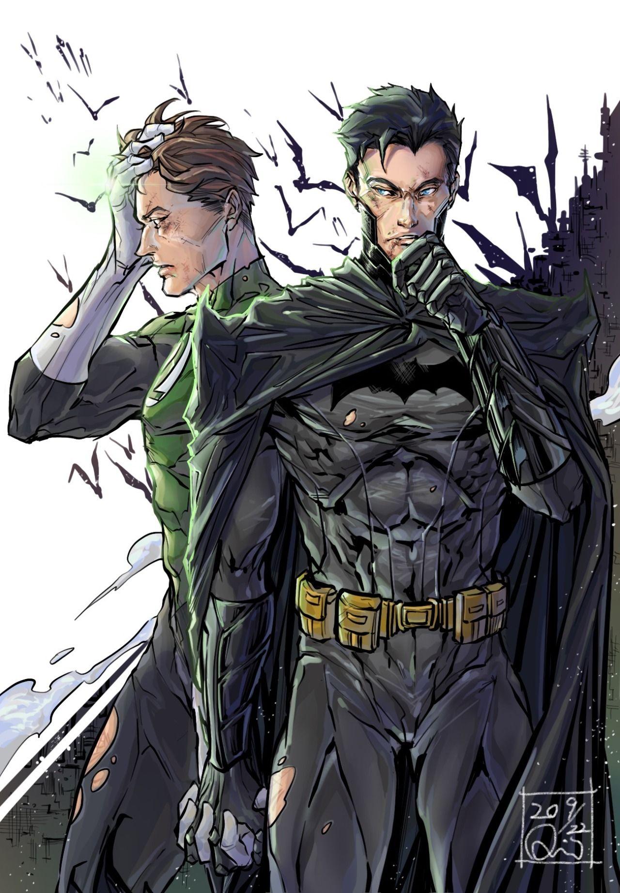 Pin by .1TRH1. on Hal Jordan in 2020 Green lantern hal