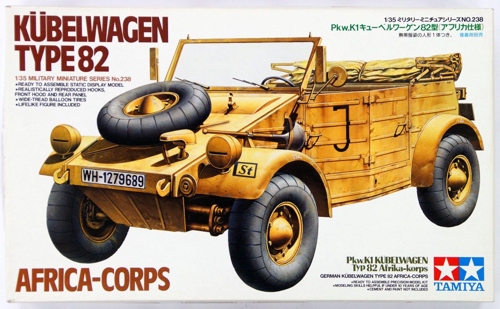 Kübelwagen 82Versión KorpsLa Tamiya Type Guerra Afrika gbYf76y