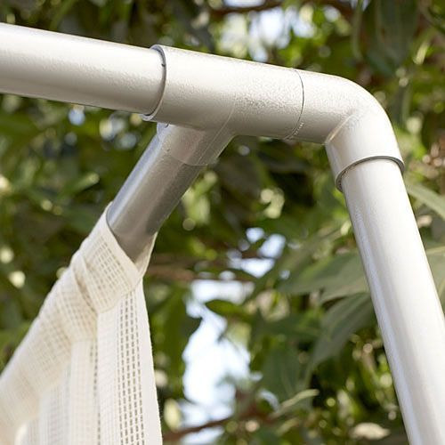 Diy Pvc Gardening Ideas And Projects: Cabana, Pvc Pipe And Pipes
