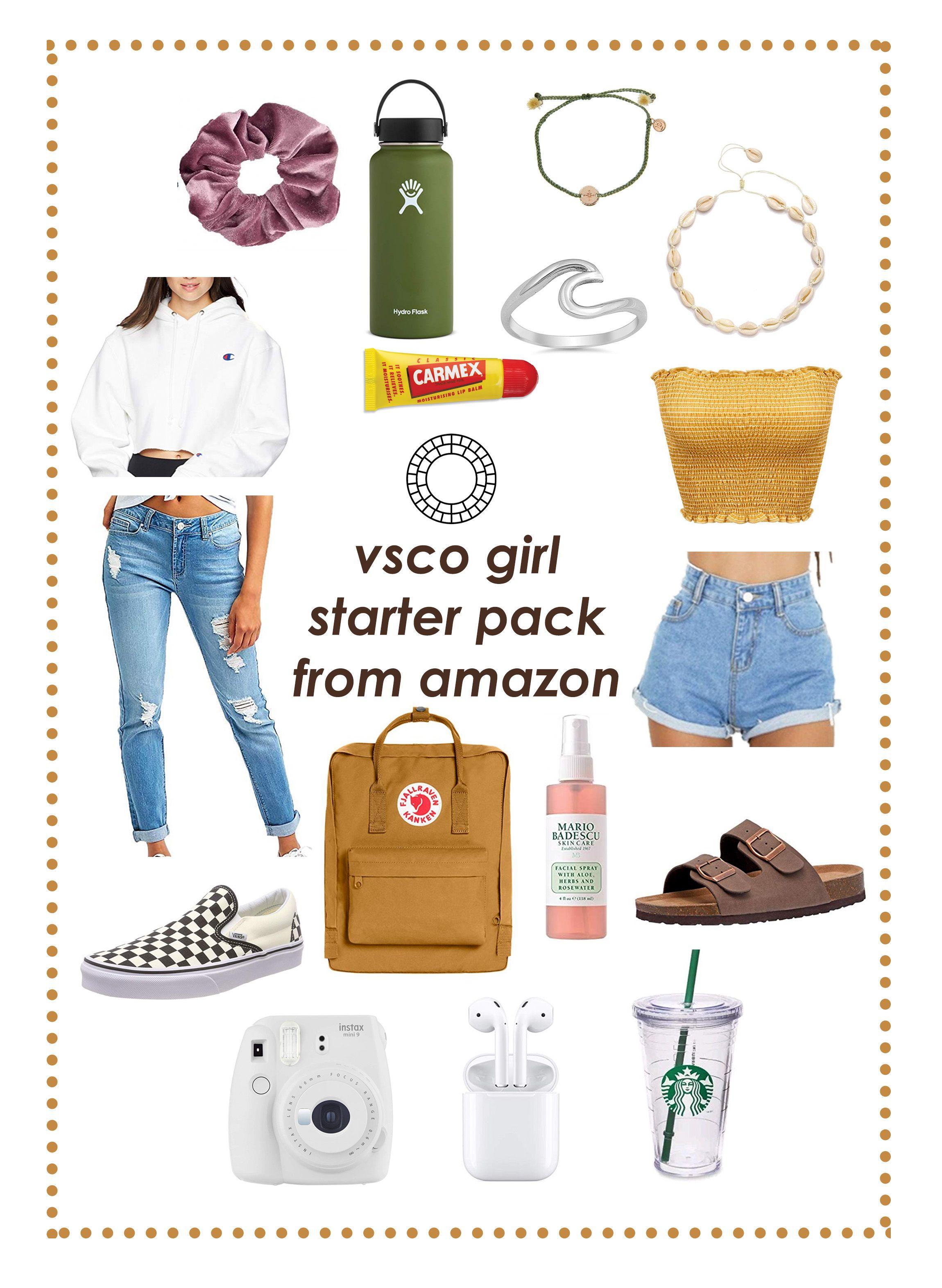 Vsco girl starter pack from Amazon in 2020 | Lou
