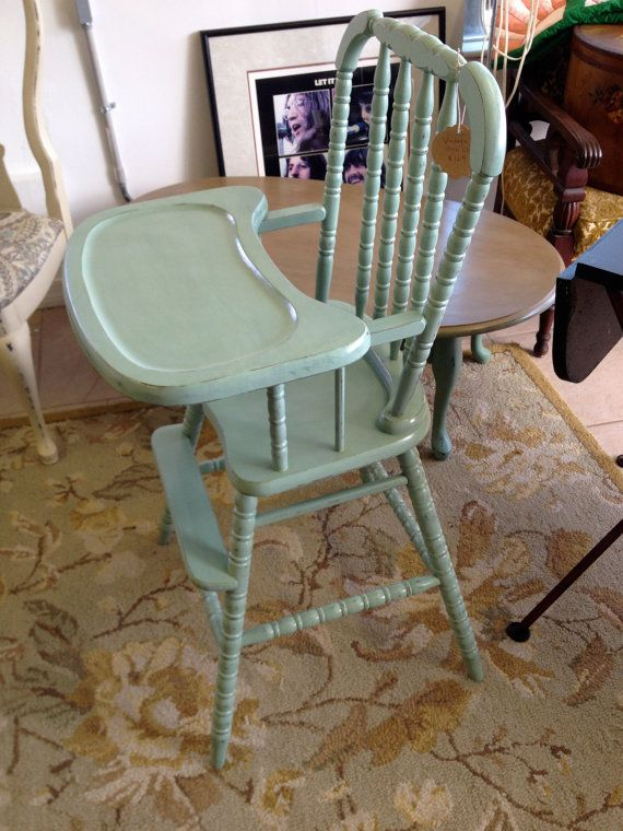 Vintage Jenny Lind Wooden High Chair Wooden High Chairs
