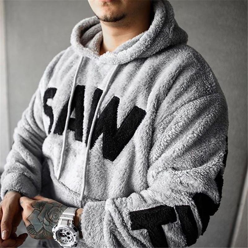 Mens Classic Pullover Hoodie Sweatshirt,Id Hit That Print