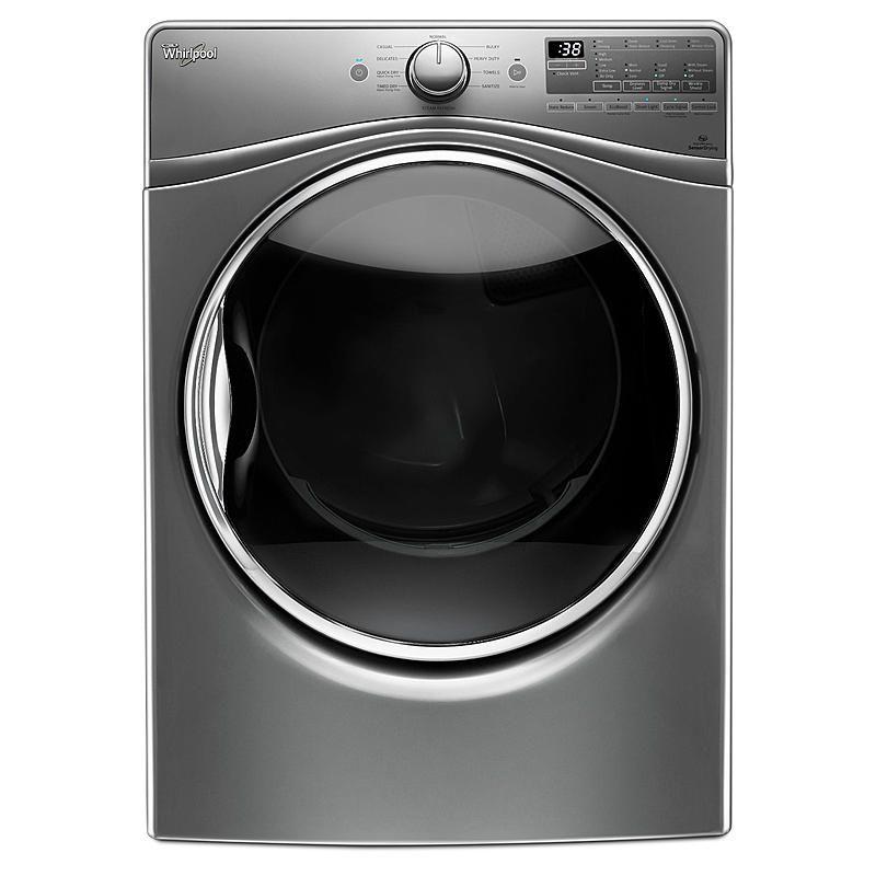 Whirlpool Wed92hefc 7 4 Cu Ft Electric Dryer W Advanced Moisture Sensing Chrome Shadow In 2020 Electric Dryers Electric Heat Pump Gas Dryer