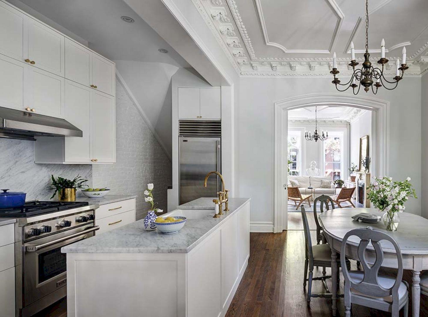 Ideen für küchenschränke designing project for clermont street brownstone duplex  cocinas