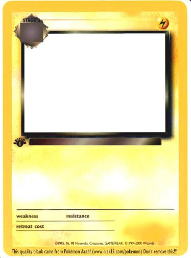 Create Your Own Pokemon Cards My Boys Will Love This Pokemon Card Template Make Your Own Pokemon Pokemon Cards