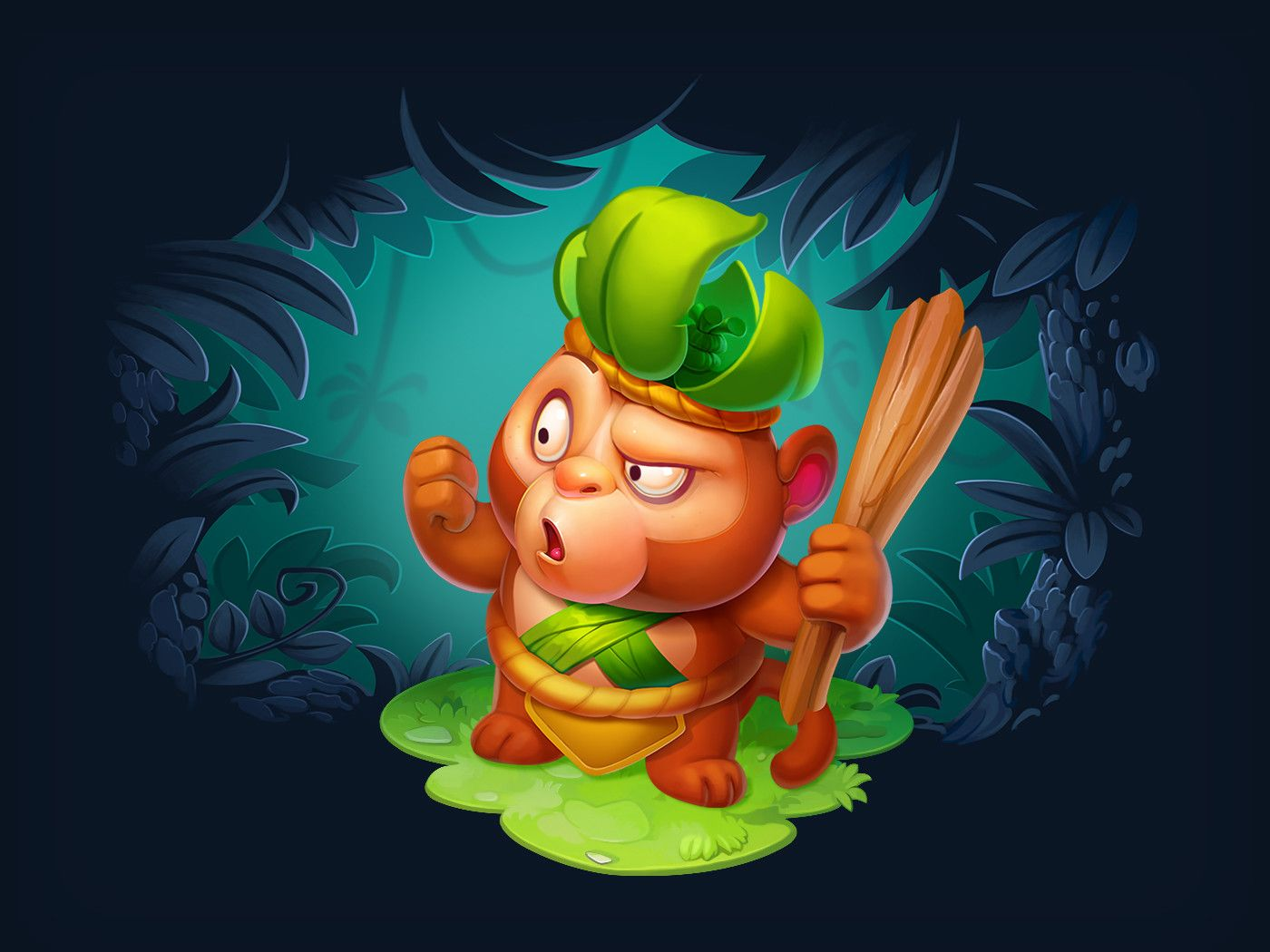 ArtStation Treasure Hunter Characters, Nest Strix