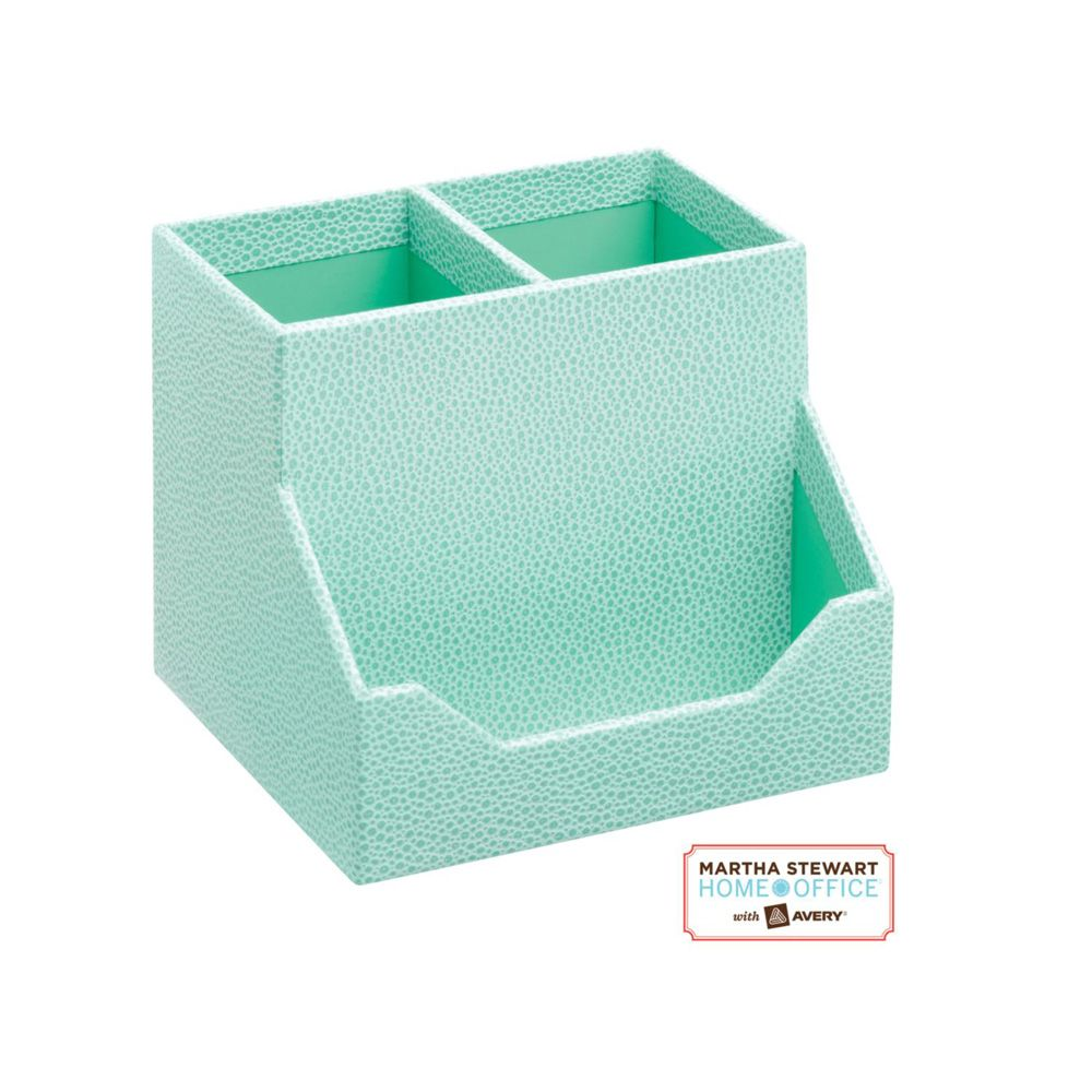 Martha Stewart Blue Pencil Cup & Card Holder - Staples | My New ...